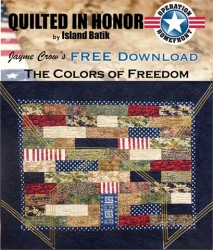 The Colors of Freedom Quilt Pattern