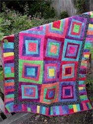 Tilt-a-Square Quilt Pattern