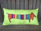 Haute Dog Long Pillow Pattern