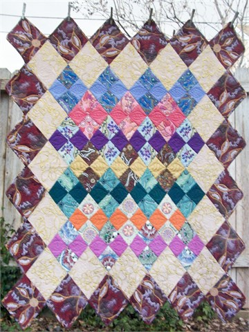 4-Patch Quilt Pattern