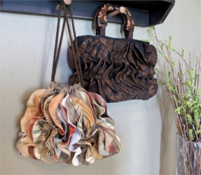 All Ruffled Up Handbag