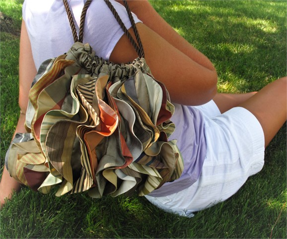 All Ruffled Up Handbag