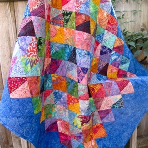 Baby Boondoggle Quilt Pattern & Ruler