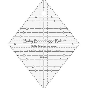 Baby Boondoggle Ruler for Quilt Patterns
