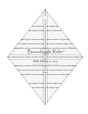 Boondoggle Ruler for Quilt Patterns