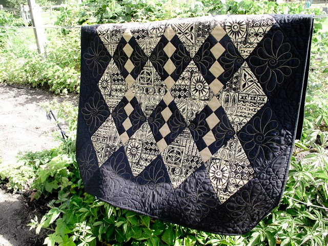 Checkerboard Quilt Pattern