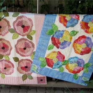 Parkbench Posies Quilt Pattern