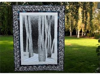 Winter Aspens Quilt Pattern