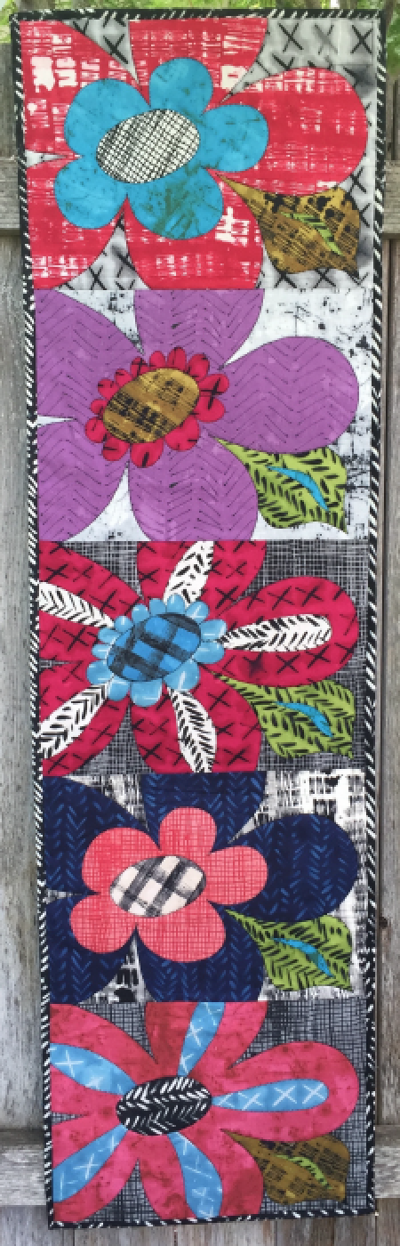 Bloomers Wall Hanging