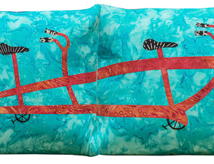 pillow duet pattern bicycle built for two